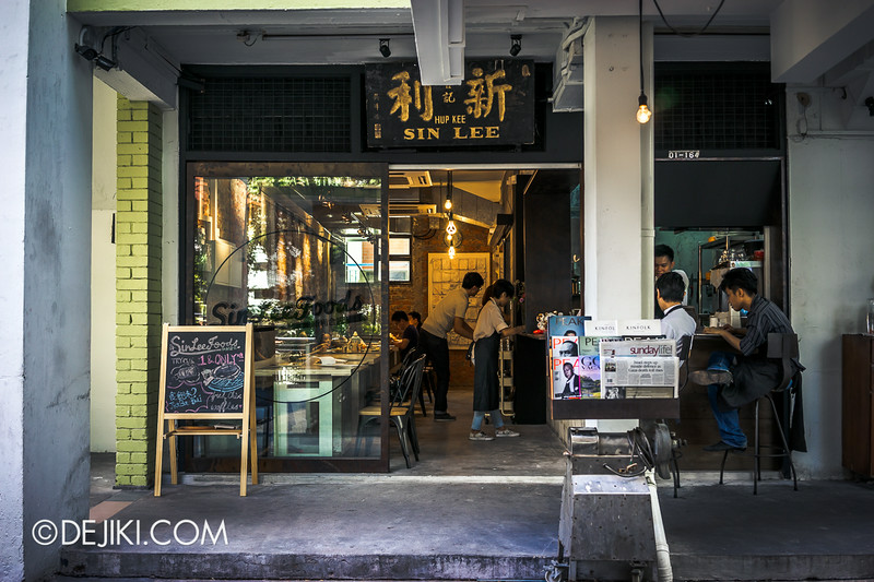 Sin Lee Foods - Cafe Front