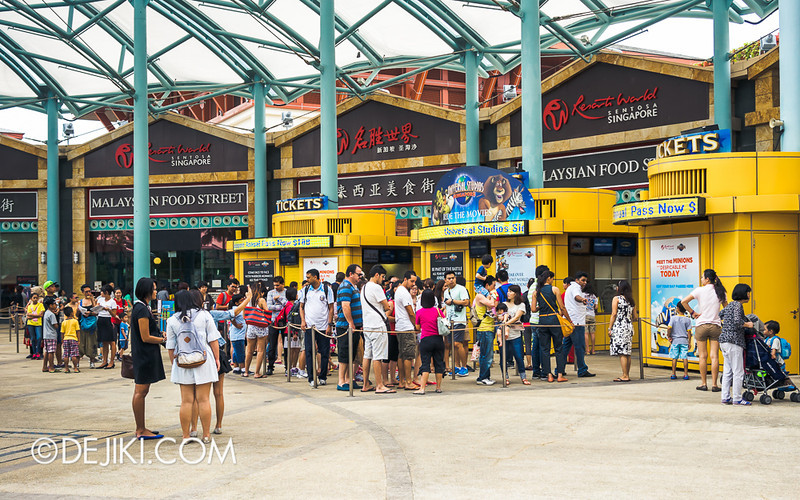 Universal Studios Singapore - Park Ticketing