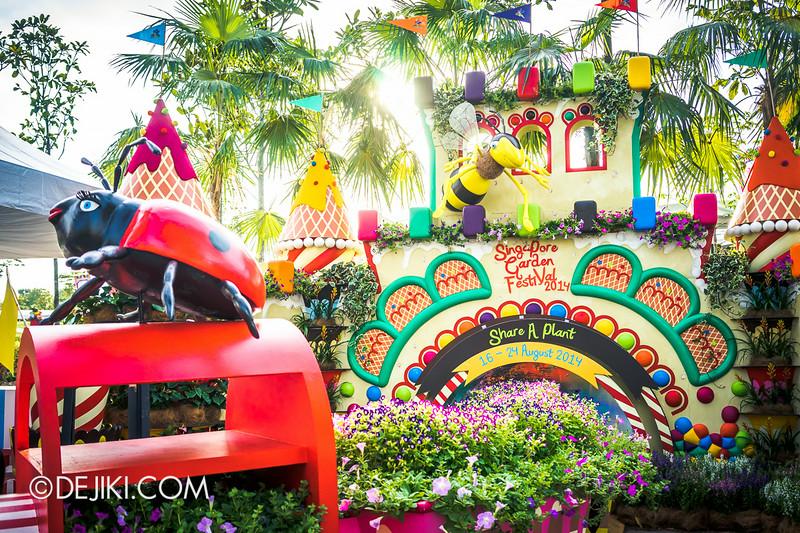 Singapore Garden Festival 2014 at Gardens by the Bay - The Fantasy Train
