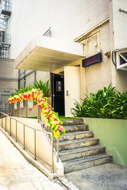 Universal Studios Singapore - Easter Eggstravaganza 2015 - Royal Lunch at Eggingham Gardens / Soundstage 28 Entrance