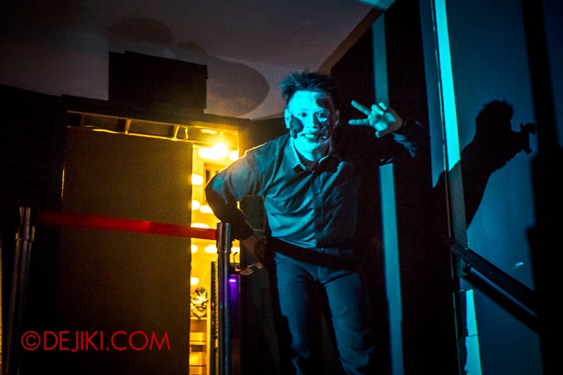 Sentosa Spooktacular 2014 - COUNTDOWN Haunted House / bouncer