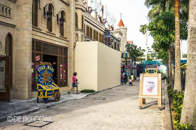 Universal Studios Singapore - Park Update July 2014 - USS New Attraction 2014 at Far Far Away Extension 04