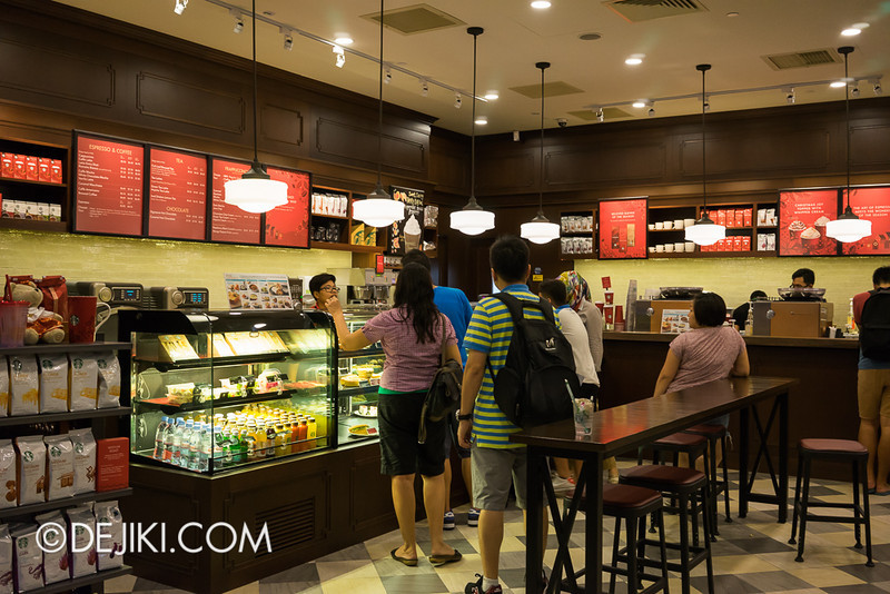 Universal Studios Singapore - Starbucks at USS 2