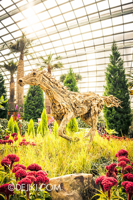 Gardens by the Bay - Year of the Horse Floral Display 23