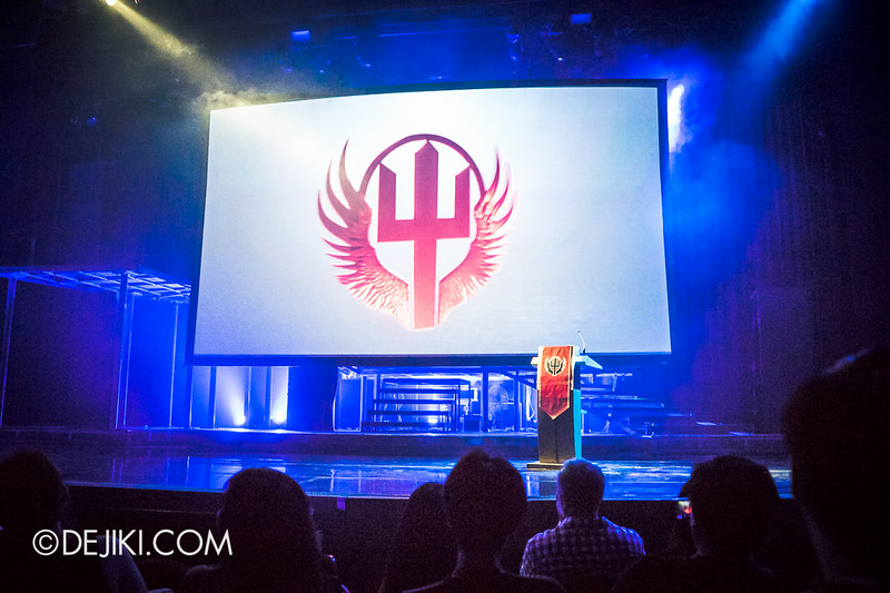 USS HHN4 Halloween Horror Nights 4 - Jonah Goodwill's Inauguration Ceremony / The Presentation 1
