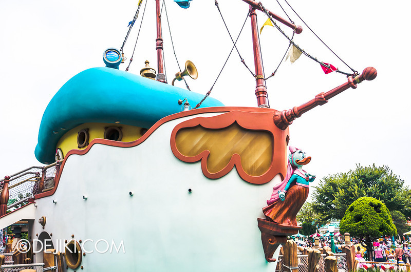 ToonTown - Donald's Boat