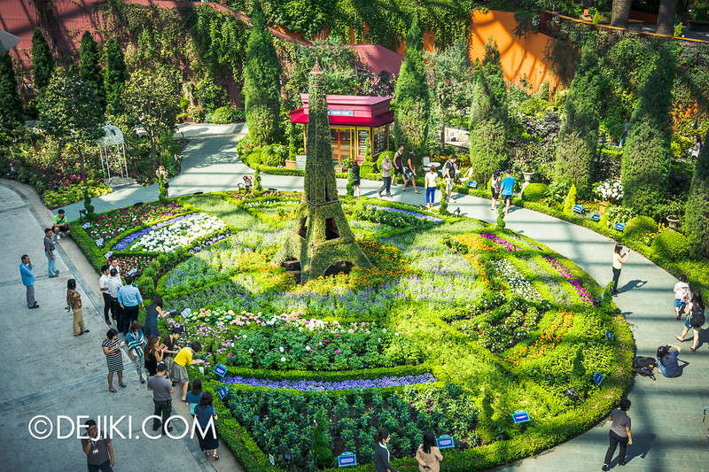 Gardens by the Bay - French Faire 2 / Flower Field Overlook