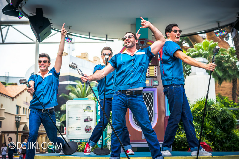 Universal Studios Singapore - Park Update August 2014 - The Cruisers at USS 7