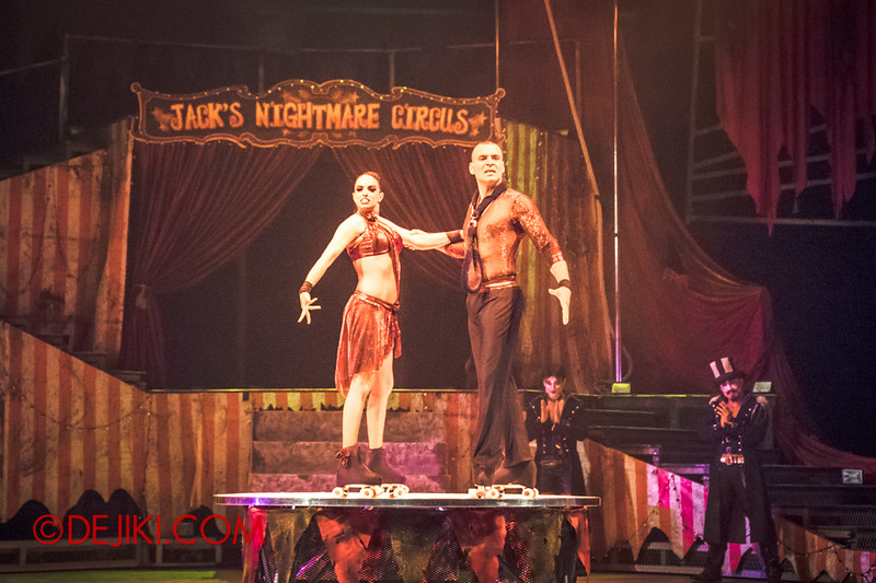 Halloween Horror Nights 4 - Jack's Nightmare Circus - Duo Skaters from Italy 8