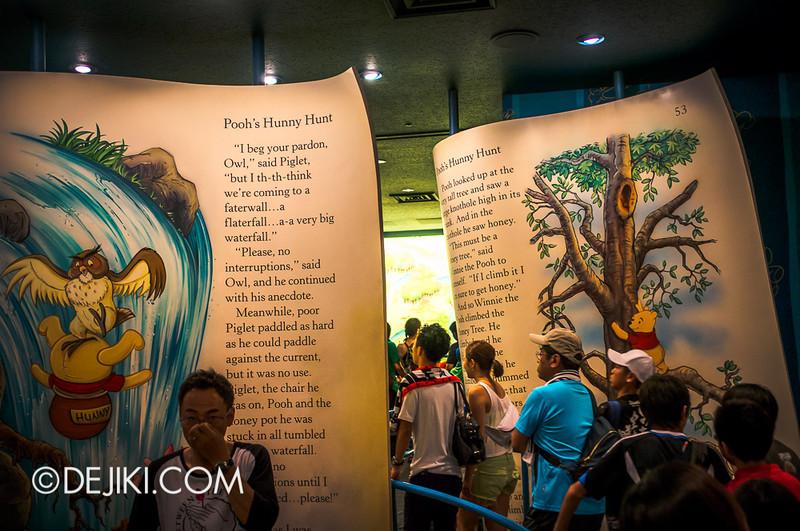 Tokyo Disneyland - Pooh's Hunny Hunt: Queue at load area