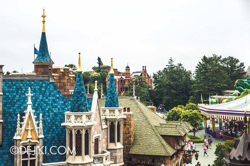 Fantasyland - from the Castle Hall 2