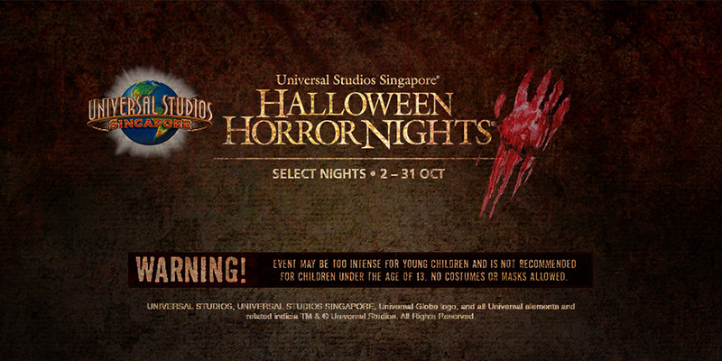 Universal Studios Singapore - Park Update June 2015 - HHN5 Halloween Horror Nights 5 news