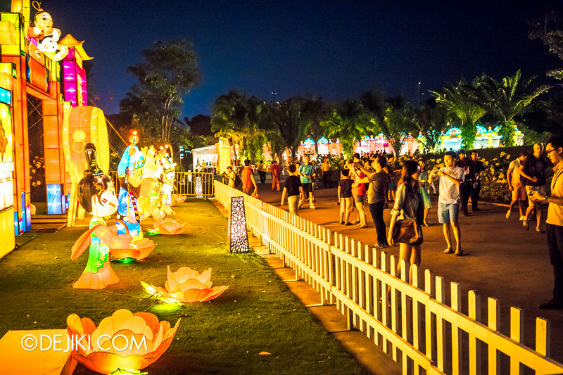 Gardens by the Bay - Mid-Autumn Festival at the Gardens 2014 - Lanterns / Racial Harmony in Singapore 1