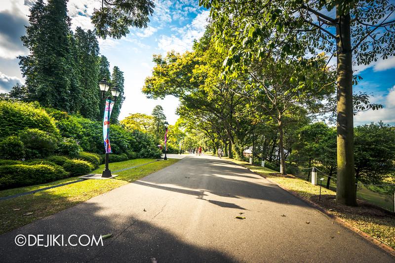 The Istana, Singapore - Pathways around Istana