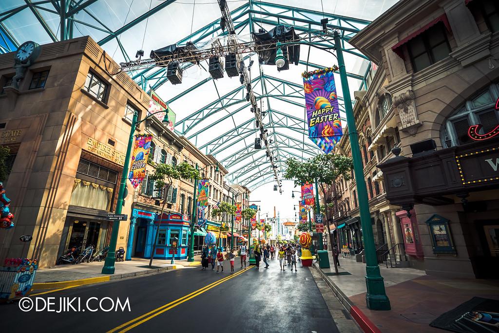Universal Studios Singapore - Park Update March 2016 / Eggingham New York back