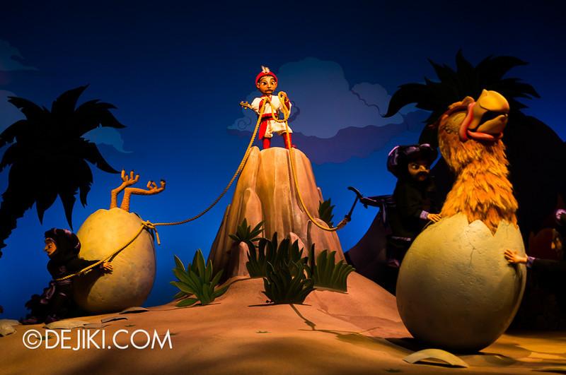 Sindbad's Storybook Voyage - Giant Eggs