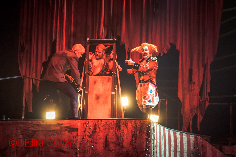Halloween Horror Nights 4 - Jack's Nightmare Circus - Jack punishes Gordo Gamsby 2