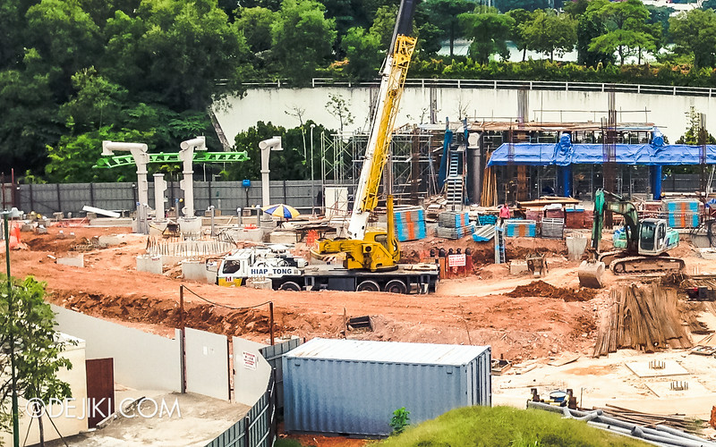 Universal Studios Singapore - Park Update July 2014 - New Attraction at Far Far Away Extension / Suspended Family Coaster 4