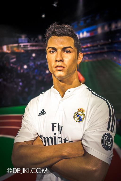 Madame Tussauds Singapore - Cristiano Ronaldo
