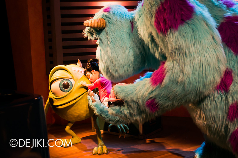 Monsters, Inc: Ride and Go Seek! on-ride experience 7