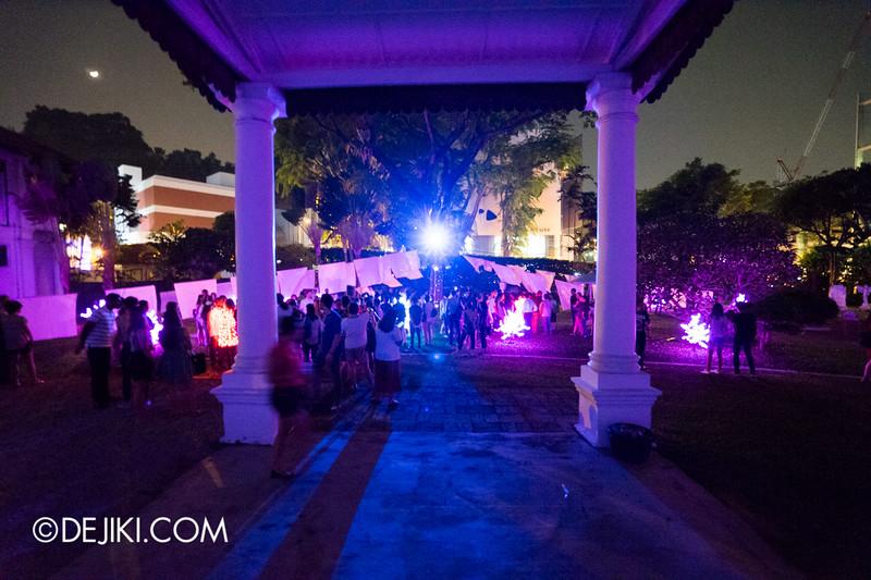 Singapore Night Festival 2015 - Armenian Church / Embruns De Lune and HANAMI WIDE
