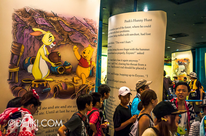 Tokyo Disneyland - Pooh's Hunny Hunt: Queue at load area 5