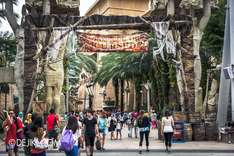 Halloween Horror Nights 4 Singapore - Before Dark 2 - Canyon of the Cursed 1