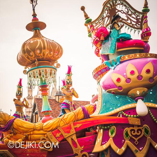 Tokyo Disneyland - Happiness is Here Parade 17 / Aladdin, Jasmine, Abu