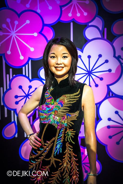 Madame Tussauds Singapore - Teresa Teng