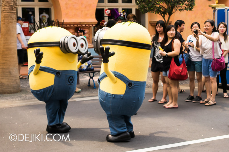 Universal Studios Singapore - Minion Photo-Op 2