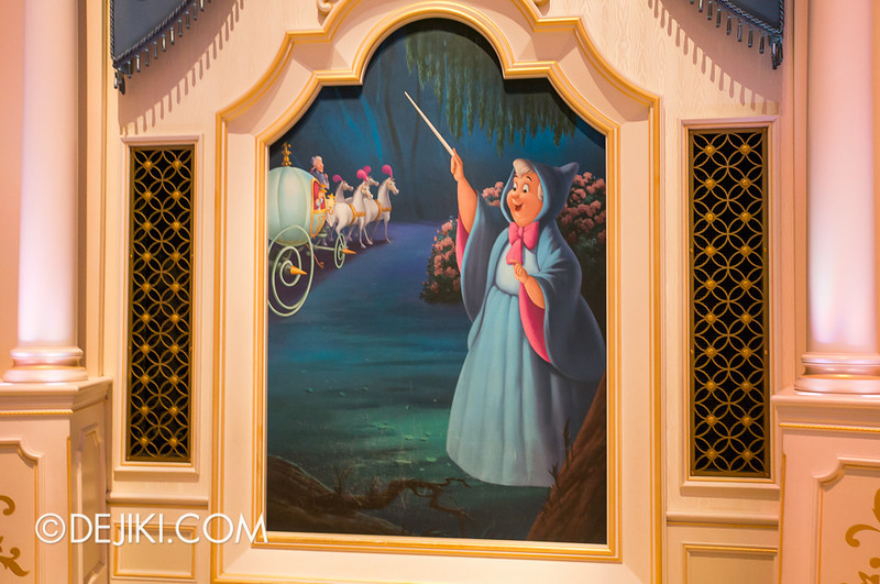 Cinderella's Fairy Tale Hall - Magic Painting