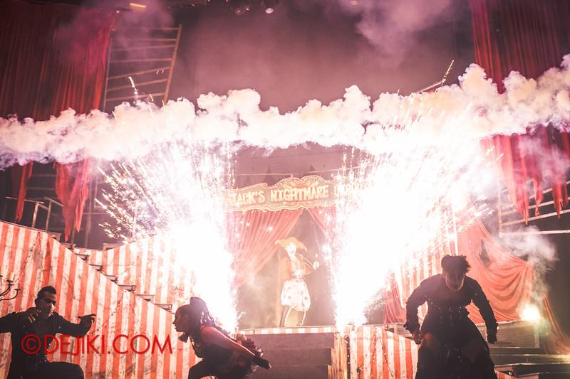 Halloween Horror Nights 4 - Jack's Nightmare Circus - Sparks