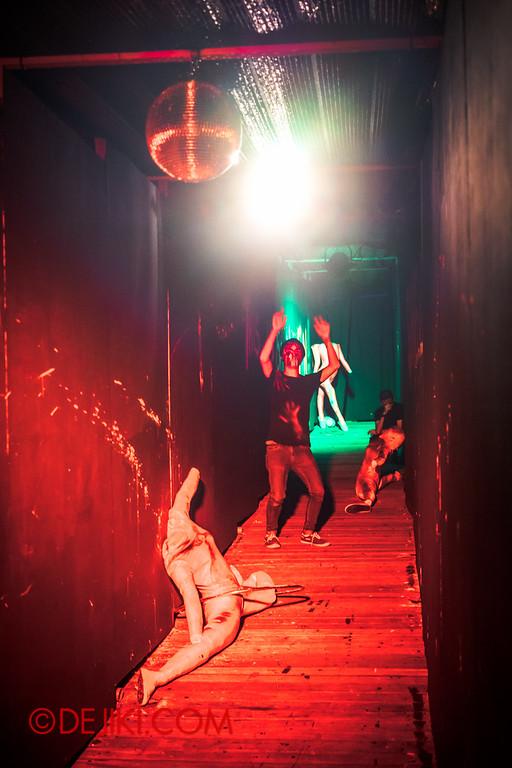 Sentosa Spooktacular 2014 - COUNTDOWN Haunted House / dancing at the club H