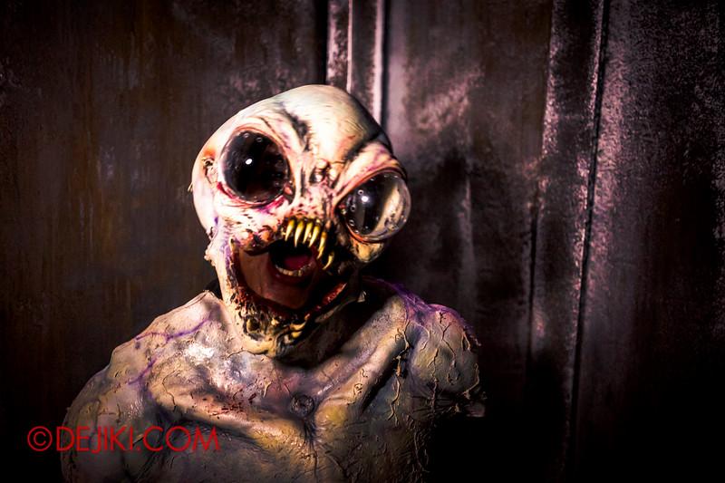 Halloween Horror Nights 4 - The L.A.B Laboratory of Alien Breeding - Alien unleashed