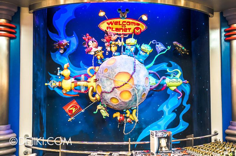 Tokyo Disneyland - Tomorrowland / Planet M store 4