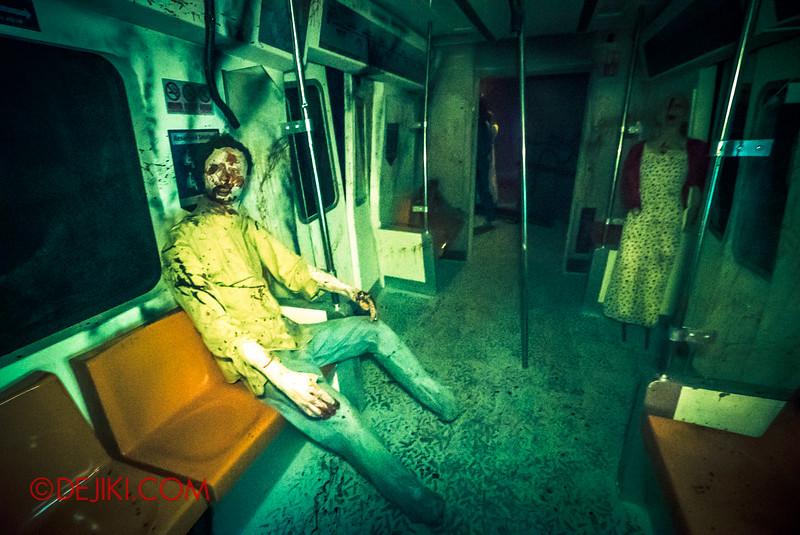 Halloween Horror Nights 5 - True Singapore Ghost Stories: THE MRT / Dead commuters