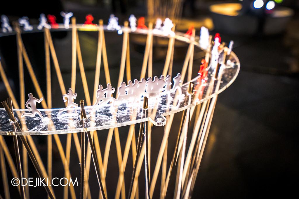 i Light Marina Bay 2016 - Lightscape Pavilion close up