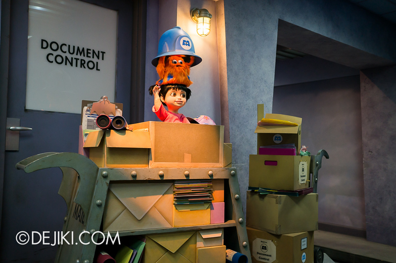 Monsters, Inc: Ride and Go Seek! on-ride experience 8