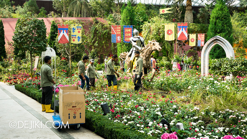 Gardens by the Bay - War of the Roses / War Field