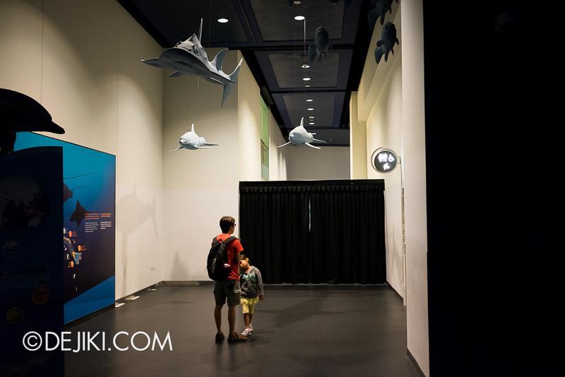 SEA Aquarium - Modified entrance 3
