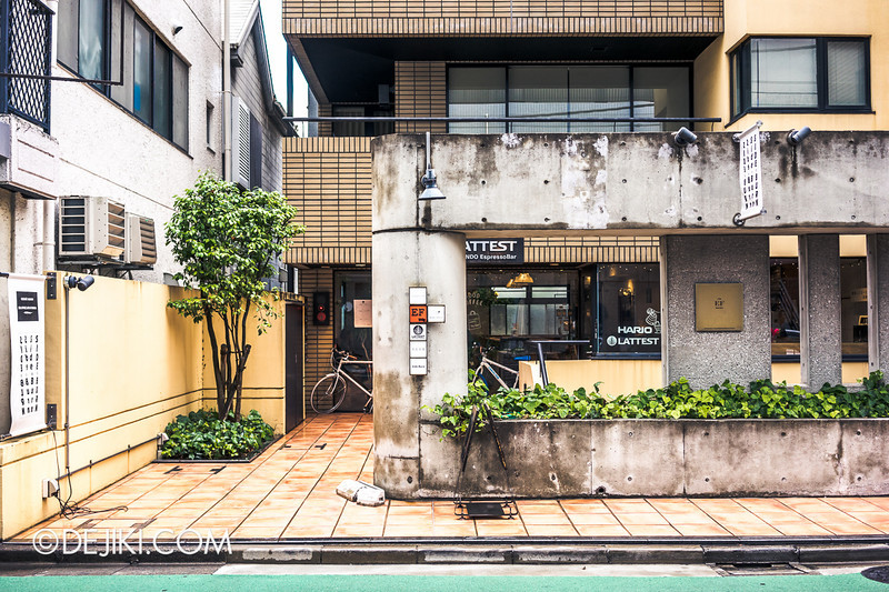 LATTEST OMOTESANDO Espresso Bar 1 - Street View