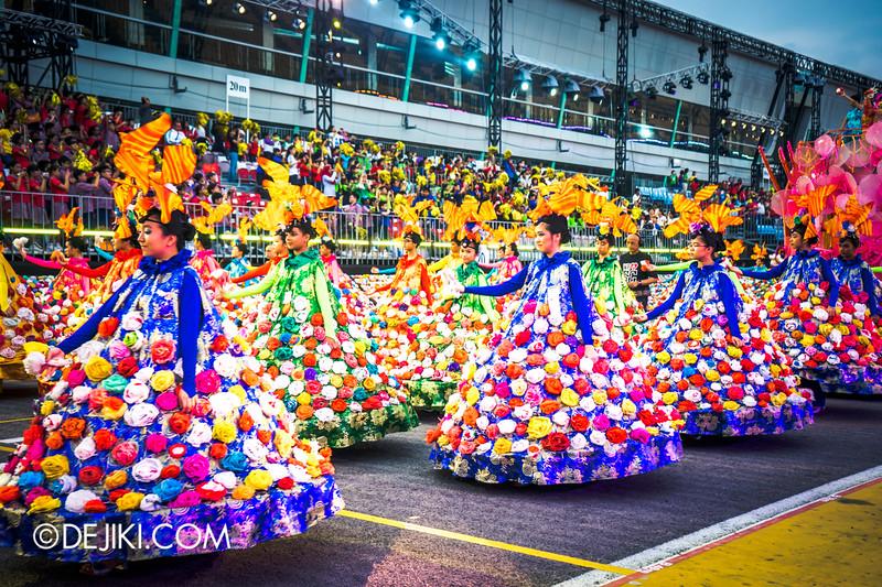 Chingay 2015 - Parade 1 Flowers