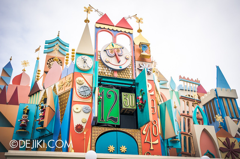 it's a small world - facade 3