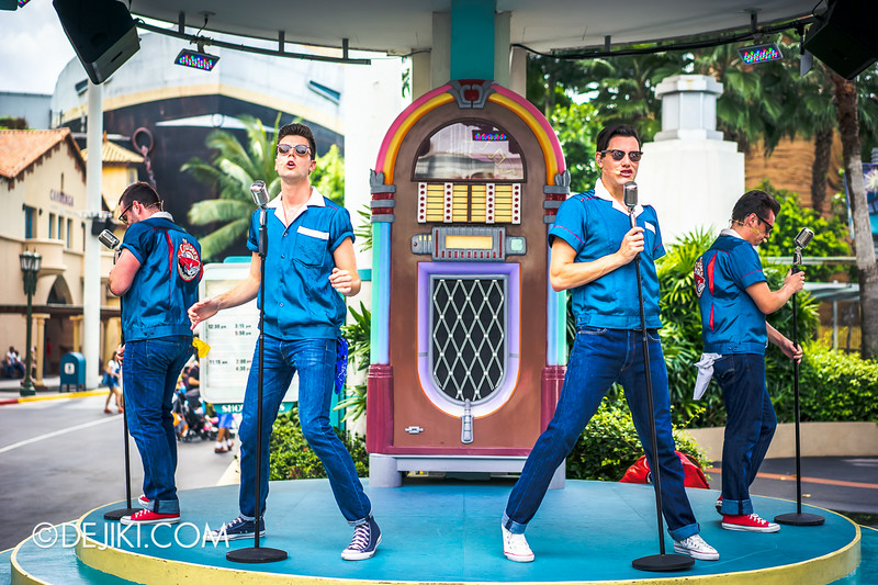 Universal Studios Singapore - Park Update August 2014 - The Cruisers at USS 2