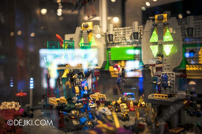 Universal Studios Singapore - Park Update July 2014 - Transformers Sci-Fi City KRE-O Diorama at Transformers Supply Vault 4