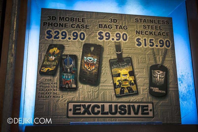 Universal Studios Singapore - Park Update June 2014 - Transformers Bric-a-bracs