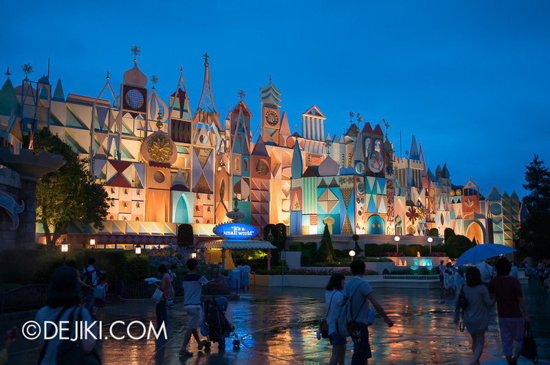 Fantasyland at night - it's a small world