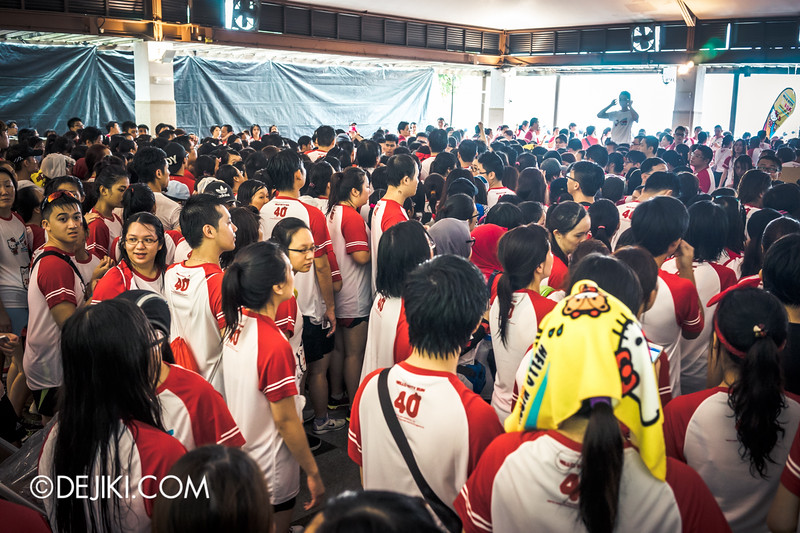 Hello Kitty Run Singapore - Mayhem at Medal collection 2