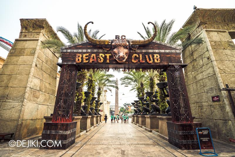 Universal Studios Singapore - Halloween Horror Nights 5 Before Dark Day Photo Report 3 - BEAST CLUB