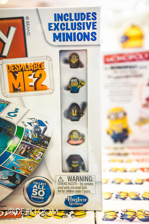 Universal Studios Singapore - Park Update June 2014 - USS Minion Mart / Despicable Me Monopoly Board Game 3